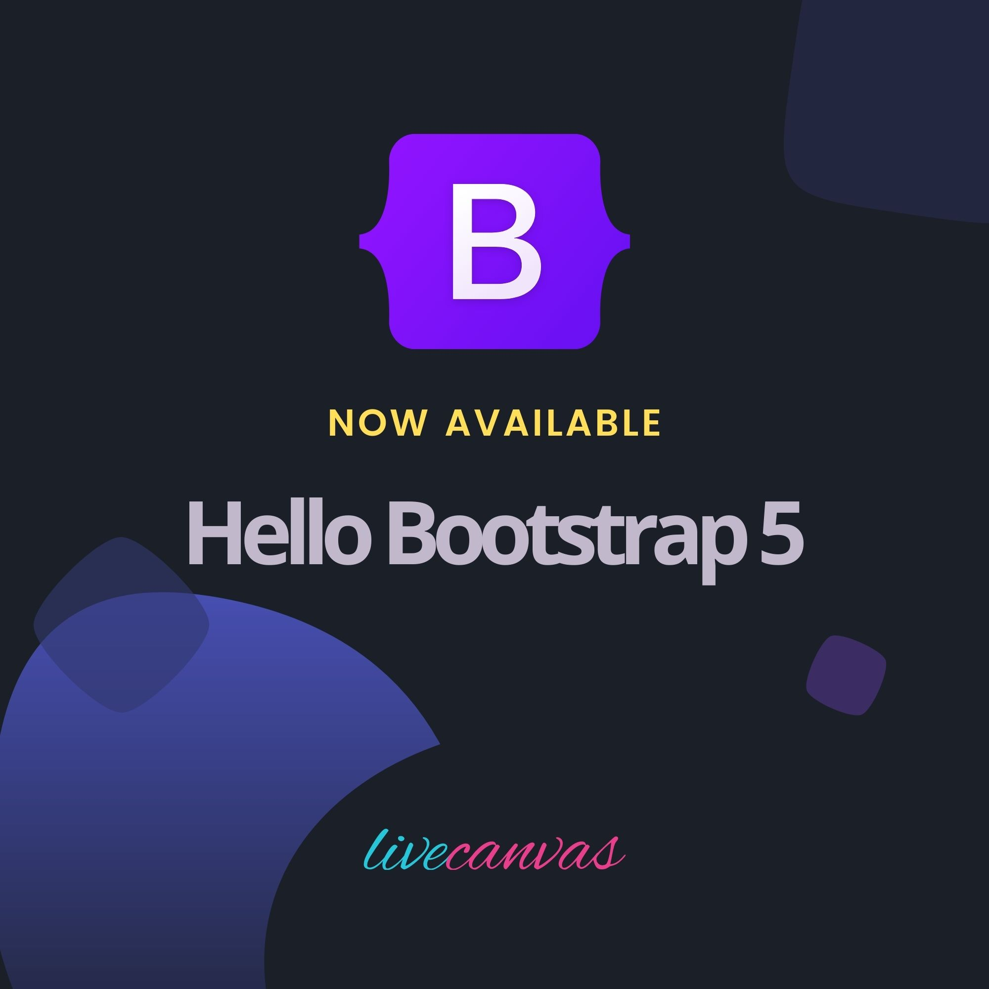 Introducing Bootstrap 5 support: LiveCanvas 2.0 and Picostrap5